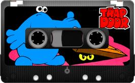 Cartridge artwork for The Trap Door on the Sinclair ZX Spectrum.