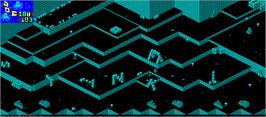 Game map for 3DC on the Sinclair ZX Spectrum.