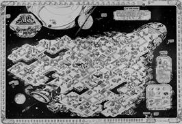 Game map for Alien 8 on the Amstrad CPC.