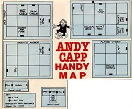 Game map for Boot Camp on the Commodore 64.