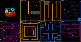 Game map for Gauntlet on the Sega Master System.