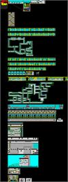 Game map for Hudson Hawk on the Atari ST.