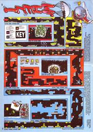Game map for Mr. Heli on the Atari ST.