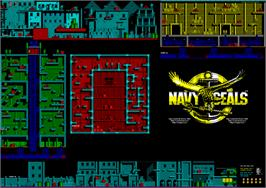 Game map for Navy Seals on the Atari ST.