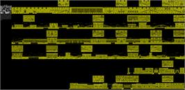 Game map for NightHunter on the Sinclair ZX Spectrum.