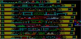 Game map for NorthStar on the Sinclair ZX Spectrum.
