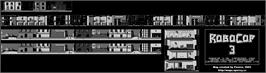 Game map for RoboCop 3 on the Sinclair ZX Spectrum.