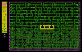 Game map for Sabre Wulf on the Amstrad CPC.