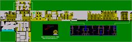 Game map for Zorro on the Sinclair ZX Spectrum.