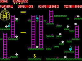In game image of 10 Computer Hits 1 on the Sinclair ZX Spectrum.