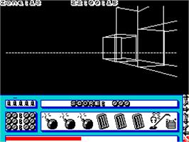 In game image of 10 Computer Hits 5 on the Sinclair ZX Spectrum.