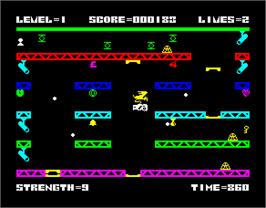In game image of 1994: Ten Years After on the Sinclair ZX Spectrum.