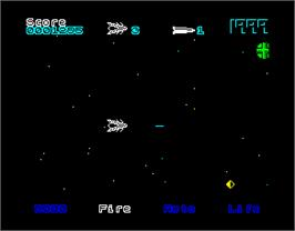 In game image of 1999 on the Sinclair ZX Spectrum.