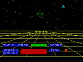 In game image of 3D Defence on the Sinclair ZX Spectrum.