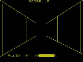In game image of 3D Pyramid on the Sinclair ZX Spectrum.