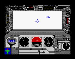 In game image of Ace of Aces on the Sinclair ZX Spectrum.