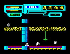 In game image of Anfractuos on the Sinclair ZX Spectrum.