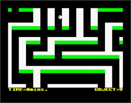 In game image of Cagara on the Sinclair ZX Spectrum.