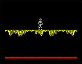 In game image of Camelot Warriors on the Sinclair ZX Spectrum.