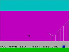 In game image of Cassette 50 on the Sinclair ZX Spectrum.