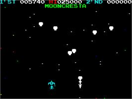 In game image of Classic Arcadia 3 on the Sinclair ZX Spectrum.