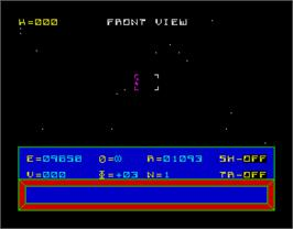 In game image of Codename: MAT on the Sinclair ZX Spectrum.
