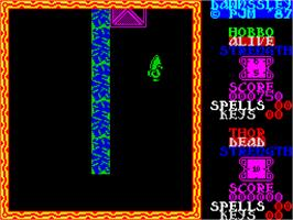 In game image of Dawnssley on the Sinclair ZX Spectrum.