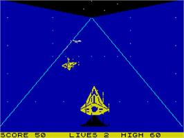 In game image of Death Sword on the Sinclair ZX Spectrum.