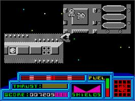 In game image of Death or Glory on the Sinclair ZX Spectrum.