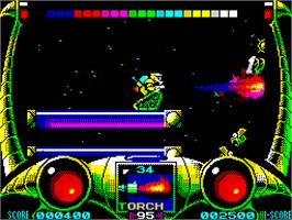In game image of Extreme on the Sinclair ZX Spectrum.