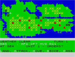 In game image of Falklands 82 -