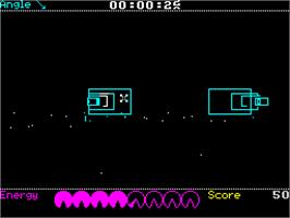 In game image of Forbidden Planet on the Sinclair ZX Spectrum.