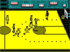 In game image of Golden Basket on the Sinclair ZX Spectrum.