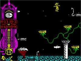 In game image of Gonzzalezz on the Sinclair ZX Spectrum.