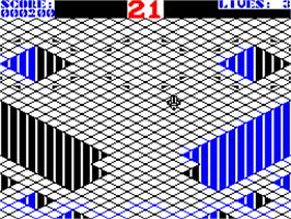 In game image of Gyroscope on the Sinclair ZX Spectrum.