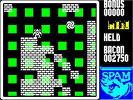 In game image of Higgledy Piggledy on the Sinclair ZX Spectrum.