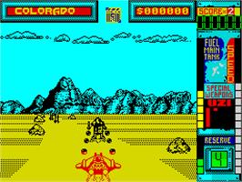 In game image of Hydra on the Sinclair ZX Spectrum.