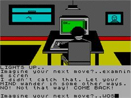 In game image of Imagination on the Sinclair ZX Spectrum.