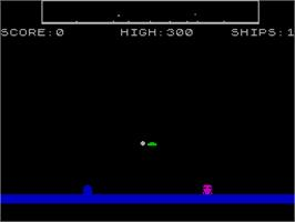 In game image of Jinxter on the Sinclair ZX Spectrum.