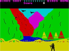 In game image of Kane on the Sinclair ZX Spectrum.