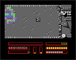 In game image of La Aventura Original on the Sinclair ZX Spectrum.