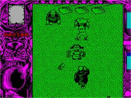 In game image of Mystical on the Sinclair ZX Spectrum.