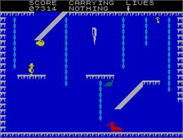 In game image of Now Games 2 on the Sinclair ZX Spectrum.