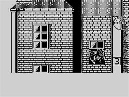 In game image of Prohibition on the Sinclair ZX Spectrum.