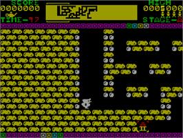 In game image of Quackshot on the Sinclair ZX Spectrum.