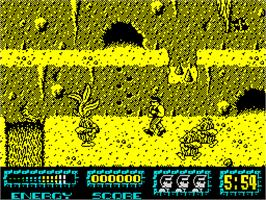 In game image of Renegade III: The Final Chapter on the Sinclair ZX Spectrum.