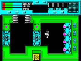 In game image of Rescue on the Sinclair ZX Spectrum.