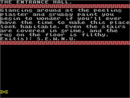 In game image of Sharkey's Moll on the Sinclair ZX Spectrum.