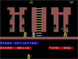 In game image of Sir Lancelot on the Sinclair ZX Spectrum.