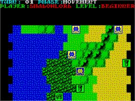 In game image of Sorcerer Lord on the Sinclair ZX Spectrum.